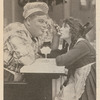"""Publicity image of Roscoe """"Fatty"""" Arbuckle and Alice Lake for the motion picture A Creampuff Romance, as published in the magazine Moving Picture World, December 16, 1916"""