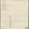 Mary Wollstonecraft autograph letter signed to Catharine Macaulay, [December 1790]
