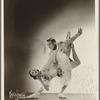 Alexandra Danilova and Frederic Franklin in the Ballet Russe de Monte Carlo production, Pas de Deux (also called Grand Adagio)