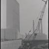 United Nations Building construction. New York, NY
