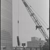 United Nations Building construction. New York, NY.