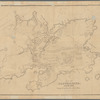 Map of Gloucester, Cape Ann: showing the location of the early settlers