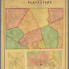 Map of the town of Blackstone, Worcester County, Mass. surveyed by order of the town