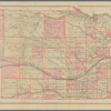 Official topographical map of Nebraska: compiled from government surveys, official records, and personal investigations