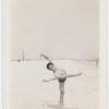 Jerome Robbins dancing on beach