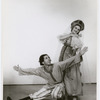Jerome Robbins and Galina Razoumova in Michel Fokine's Russian Soldier, no. 40