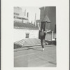 Jerome Robbins dancing on rooftop