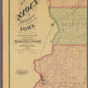Map of Sioux County, Iowa: drawn from actual surveys and the county records