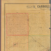 Map of Carroll County, Iowa: drawn from actual surveys and the county records