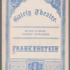 Frankenstein (Burlesque): complete program