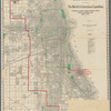 The Union News Company's new and correct map of Chicago: showing the new city limits and location of the World's Columbian Exposition, streets, parks, boulevards, railroads, street car lines, etc.