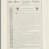 Terrell, Mary Church