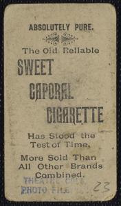 Actors: Portraits: Cigarette Pictures