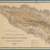 Topographical and irrigation map of the Great Central Valley of California: embracing the Sacramento, San Joaquin, Tulare and Kern Valleys and the bordering foothills
