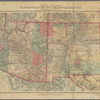 Topographical & township map of the territories of New Mexico & Arizona: from the U.S. Engineers and General Land Office maps