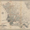 Map of the city of Oakland, Berkeley, Oakland & Brooklyn townships and Alameda