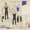 Costumes sketches for Goldberg Variations