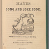 Hayes song and joke book