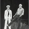 Jerome Robbins (right) with Mikhail Baryshnikov