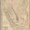 County map of the state of California