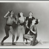 Jerome Robbins, Tanaquil Le Clercq, Roy Tobias, and Todd Bolender in the New York City Ballet production Age of Anxiety