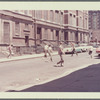 Location scouting photo (Children playing in street, second view)