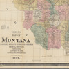 Ide's map of Montana