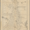 Map of the country adjacent to Puget Sound, embracing British Columbia and the counties of western Washington: and also showing the lines of travel and railways complete and the resources of the country : compiled from the latest records and information