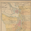C.H. Amerine's sectional map of Puget Sound and Grays Harbor country: compiled from the latest official data and other sources