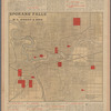 Spokane Falls: showing in red property for sale by H.L. Moody & Bro.