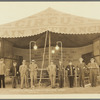 Hagenbeck-Wallace Circus executive staff, in New Brunswick, New Jersey