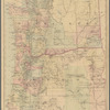 County and township map of Oregon and Washington
