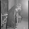 Josephine Hutchinson (as Bessie Carvil) and Warren William (as Harry Hagberd) in the stage production One Day More