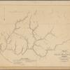Map of the Kanawha Mining Company's estate on Briar Creek, Coal River, Virginia