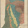Geological map of Indiana: showing location of stone quarries and natural gas and oil areas