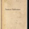 Stances haïtiennes