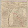 Official railway map of Michigan: prepared for and published with the eleventh annual report of the Commissioner of Railroads for 1883 ...