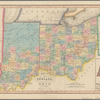 Map of the states of Indiana and Ohio: with part of Michigan Territory