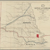 Map of Kansas and Nebraska: to accompany annual report of the Surveyor General, 1861
