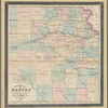 Township map of Kansas: compiled from the U.S. surveys & actual observation