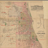 Blanchard's guide map of Chicago and environs