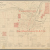 Map of the city of Topeka, Shawnee County, Kansas: population 40,000, 1887