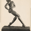 "Statuette by Augusta Savage entitled ""Pumbaa"""