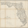 Map of the state of Florida: showing the progress of the surveys accompanying annual report of the Surveyor General for 1860