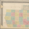 A sectional map of Iowa