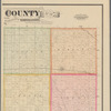 Map of O'Brian County, Iowa: drawn from actual surveys and the county records