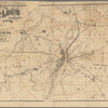 Map of St. Louis and environs: accompanying [Mr. L.U. Reavis'] work, entitled St. Louis, the future great city of the world
