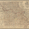 Map of the state of Missouri: compiled & constructed from U.S. surveys and other authentic sources by ; to illustrate Tracy's Missouri guide and Missouri gazetteer