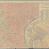 Rand, McNally & Co.'s map showing one hundred miles around Philadelphia: Rand, McNally & Co.'s map of Philadelphia