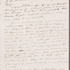 Letter from Maria Gansevoort Melville to Herman Melville